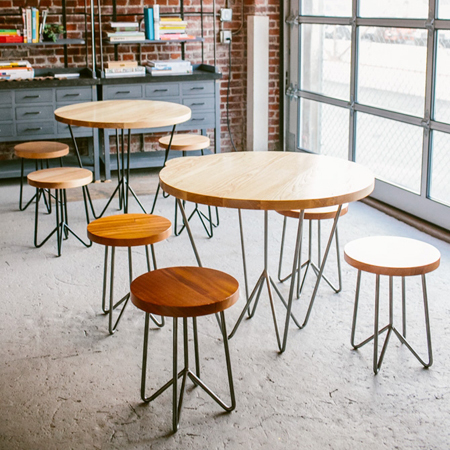 Round Cafe Tables