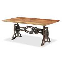 Fancy Crank Adjustable Table