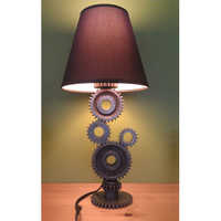 Simple Gear Industrial Table Lamp