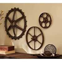 Gear Antique Industrial Wall Decor