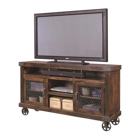Antique Industrial Tv Cabinet