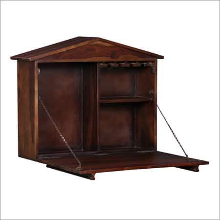 Industrial Wooden Counter