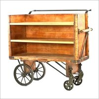 Wooden Carrier Trolley