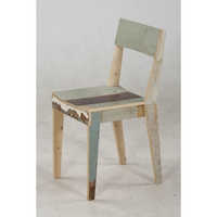 Modern Reclaimed Wood Chairs