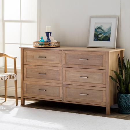 Six Drawer Dresser Cabinet