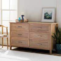 Six Drawer Dresser Cabinet