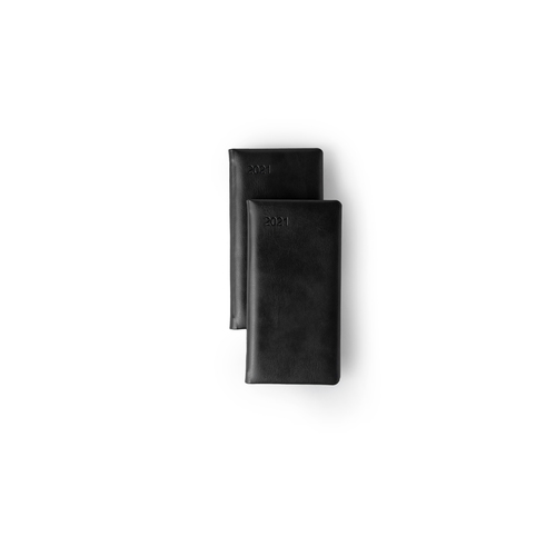 Slim Line (Vertical) Diary- Premium - Week- at-a-glance