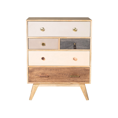 Oliver Bonas Home Ware Keira - Wooden Chest Of Drawers