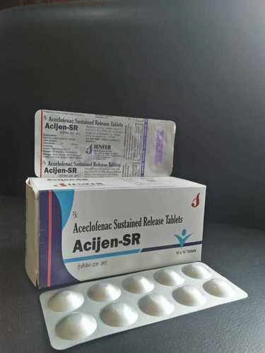 ACECLOFENAC 200 MG SUSTAINED RELEASE (ALU-ALU)