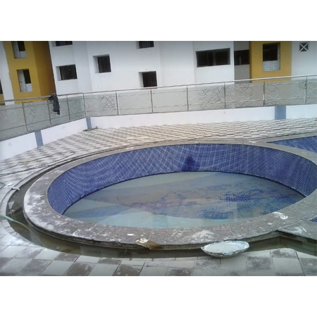 Swimming Pool Steel Designer Railing
