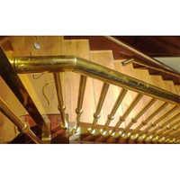 Customized Design Brass Railing