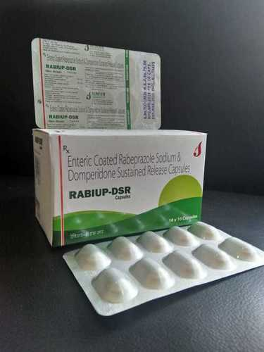 RABEPRAZOLE  20MG +DOMPERIDON 30MG SUSTAINED RELEASE