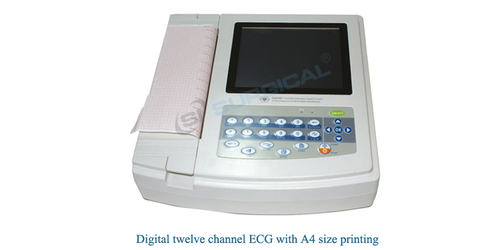 ECG  machine 12 channel