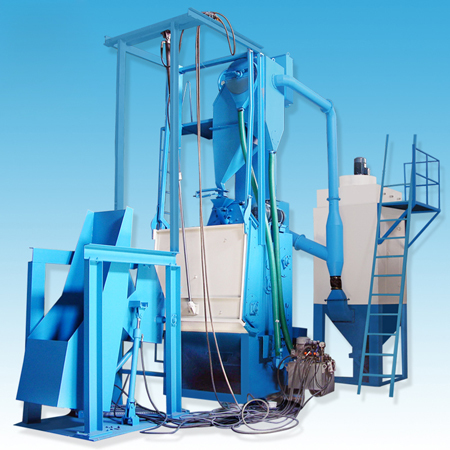 Tumblast Type Airless Shot Blasting Machine