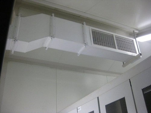 Powder Coated Duct