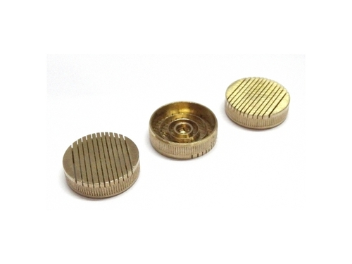 18mm Tapper Slotted Brass Core Vents