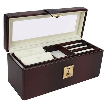 Jewellery Organiser Jewelry Box with Lock (Bank Locker Size)