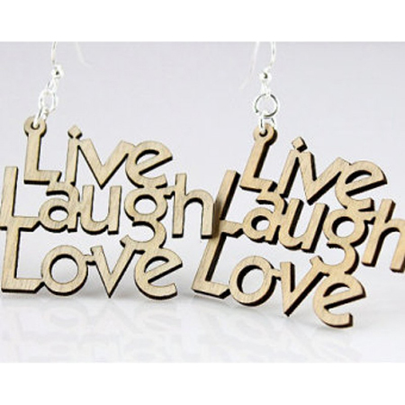 Personalized Wooden Name Keyring