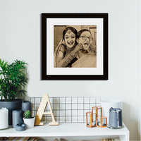 Personalized Wooden Wall Hanging Photo Frame