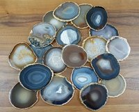 AGATE COASTERS SLICES