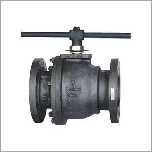 L&T Make 2 Piece Design Ball Valve Full Bore