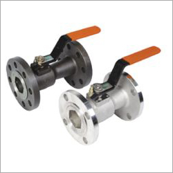 L&T Make Single Piece Design Ball Valve Flanged End