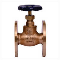 Leader Make Gun Metal Globe Valve Flanged End