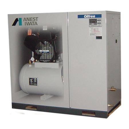 Dental Oil Free Scroll Air Compressor 7 5kw