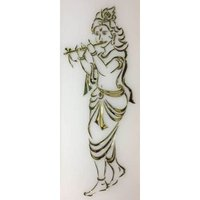 Krishna Glass Paintings