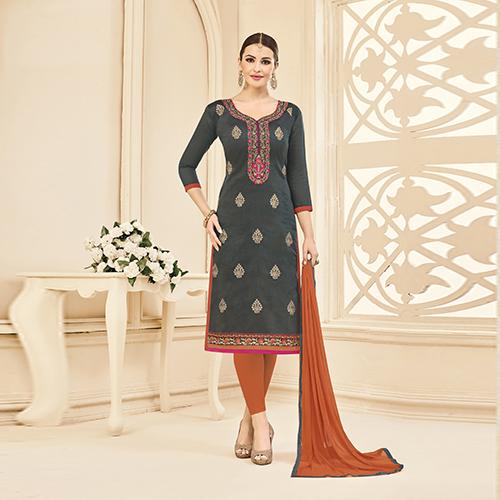 Designer Embroidered Partywear Salwar Suit