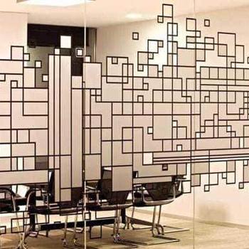 Mondrian Stained C Panel