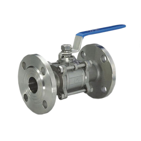 3 Piece Flanges End Ball Valve