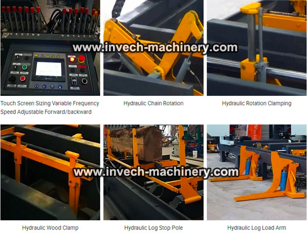 Hydraulic Horizontal Band Sawmill
