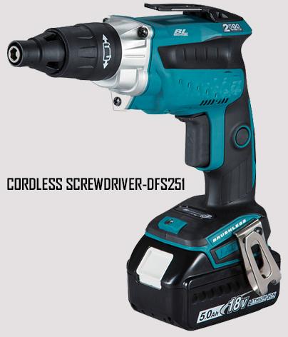 Cordless Screwdriver-DFS251