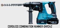 Cordless Combination Hammer-DHR242