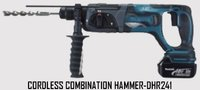 Cordless Combination Hammer-DHR241