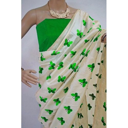 New Ladies wear Embroidery Silk Sarees