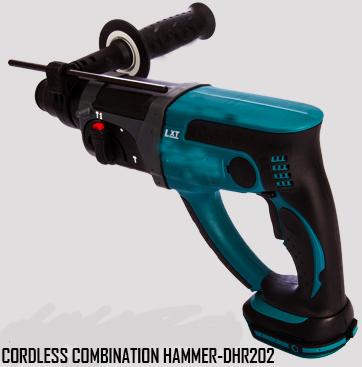 Cordless Combination Hammer-DHR202