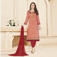 Elegant Embroidered Salwar Suit