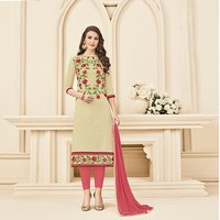 Attractive Embroidered Salwar Suit