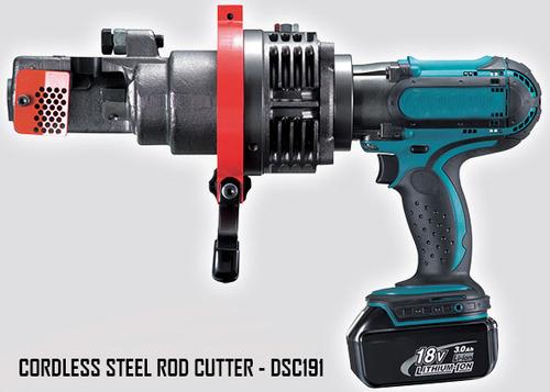 Cordless Steel Rod Cutter
