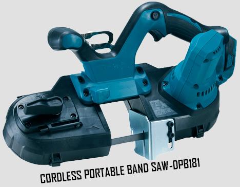 Cordless Portable Band Saw
