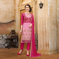 UnStitched Straight Salwar Suit