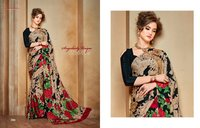Georgette sarees collection
