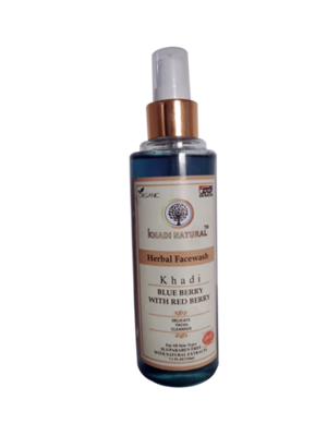Blue Berry with Red Berry Herbal Face wash