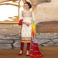 Excellent Designer Embroidered Salwar Suit