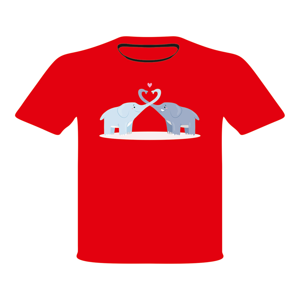 bcd925b0 Red printed T shirt - Red printed T shirt Manufacturer & Supplier ...