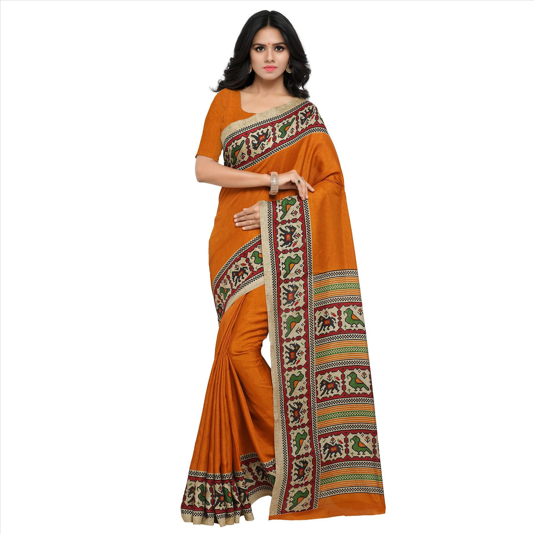 Manipuri Silk Fancy Saree