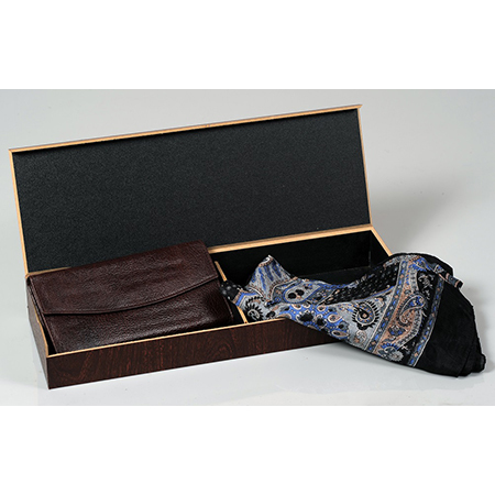 Ladies Clutch Wallet Silk Scarf Set