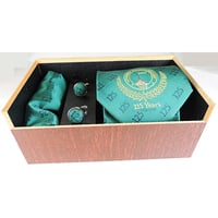 Tie Cufflinks Customized gift set